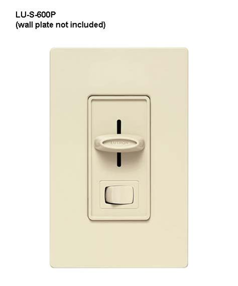 lutron dimmer light switches lutron 174 skylark 174 dimmers and light switch cableorganizer com