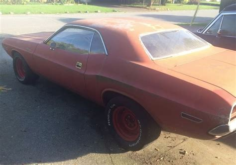 dodge challenger project car stock bc