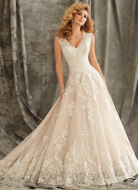 Ivory Wedding Gown by Ivory Lace Wedding Gowns With Sleeves Www Pixshark