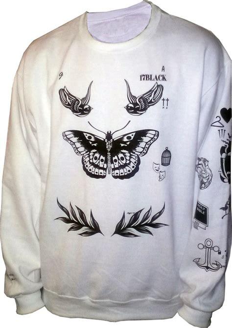 harry styles tattoo crewneck sweatshirt harry styles tattoo sweatshirt sweater crew neck shirt