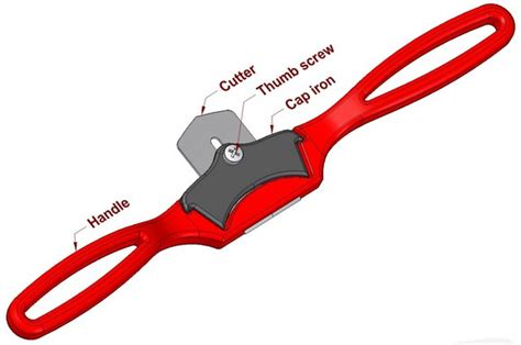 Home Plans Craftsman Spokeshave Shaping Hand Tool
