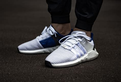 Adidas Originals Eqt Support 93 17 Royal Blue Uk8 Us8 5 Euro42 the adidas eqt support 93 17 white blue is now available