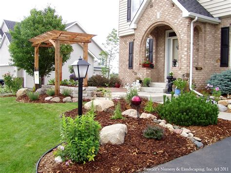 Front House Garden Design Ideas Photo Of Front Yard Landscaping Ideas On A Budget