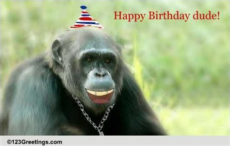 Happy Birthday Dude Wishes Happy Birthday Dude Free For Son Daughter Ecards