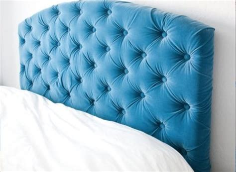 diy button headboard diy idea make your own tufted headboard huffpost