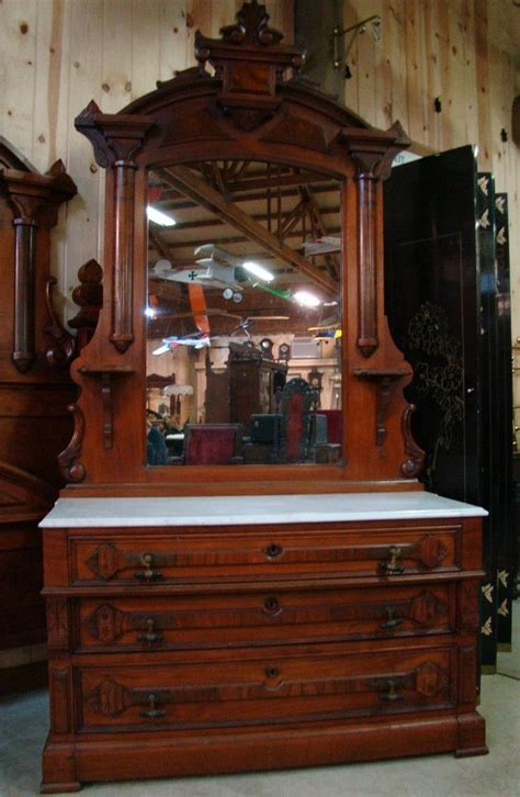 great  piece  victorian walnut marble top bedroom