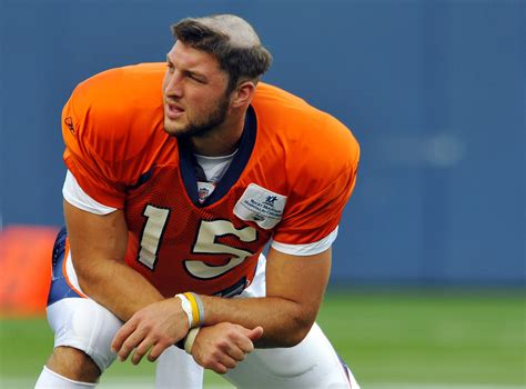 denver broncos haircuts 9news com photos remembering tim tebow s friar tuck haircut