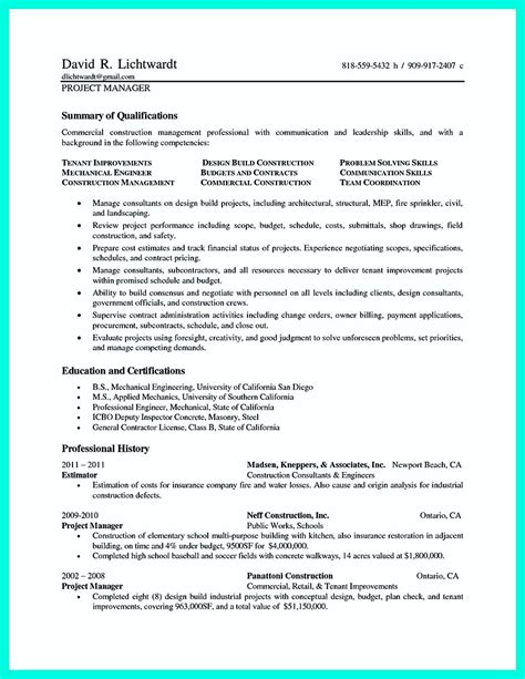 Residential Construction Worker Resume by Construction Worker Resume Exle To Get You Noticed