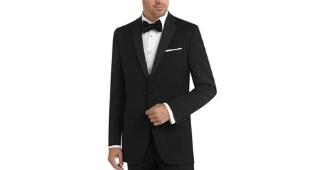 black by vera wang black slim fit tuxedo s tuxedos