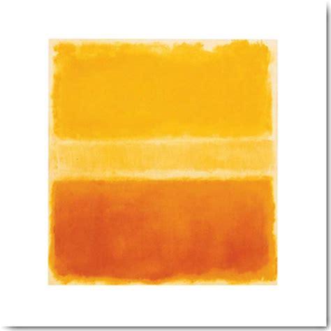 Rothko Kunstdruck by Rothko Yellow And Gold Kunstdruck 40x40