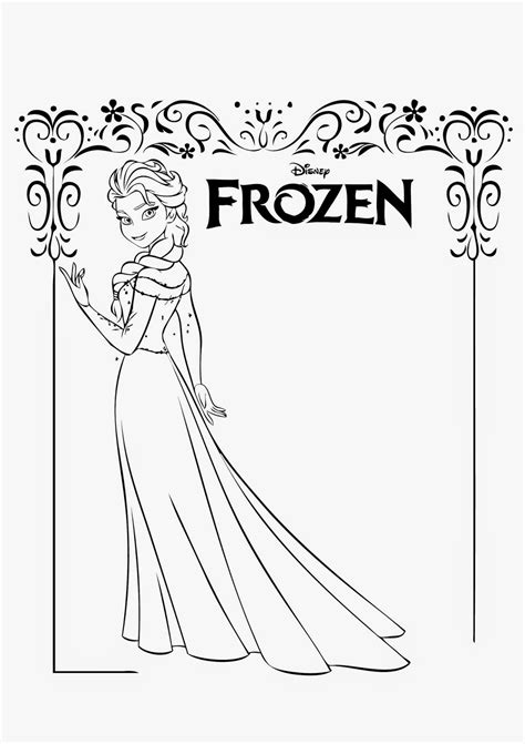 frozen coloring pages elsa castle september 2014 instant knowledge
