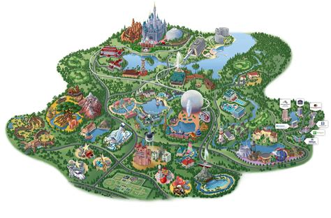 disney world orlando map with hotels disney springs map map of disney springs florida usa