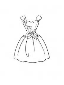 Dresses drawings to color child coloring