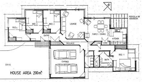 medium sized modern house plans studio design