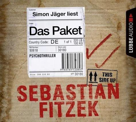Dasi Paket das paket 6 audio cds sebastian fitzek h 246 rbuch