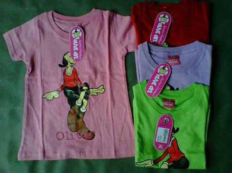 Kaos Popeye Olive rafikids grosir baju anak branded dress disney kaos