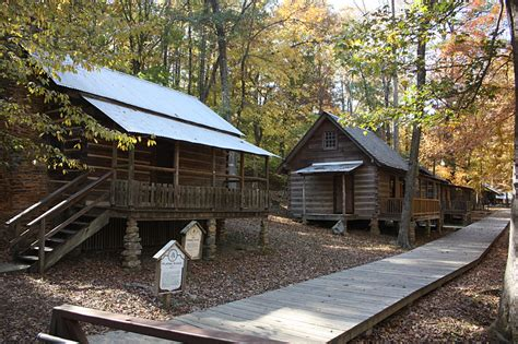 Tannehill Cabins by Kohuts Rving Adventures Tannehill Ironworks Historical