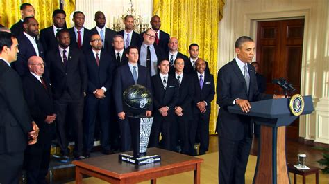 visiting the white house the miami heat visit the white house youtube