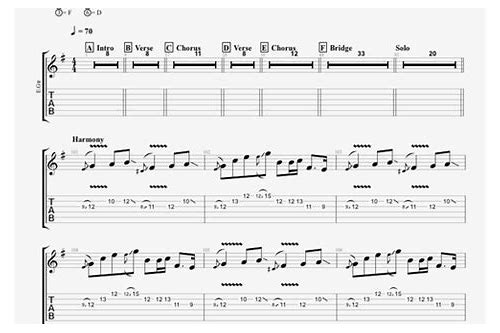 avenged sevenfold guitar pro tabs download