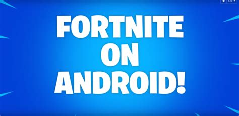 fortnite android beta how to sign up fortnite android beta devices eligible for