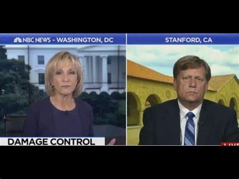 former us ambassador to russia michael mcfaul cries to nbc