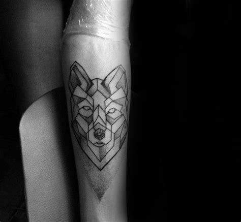geometrische 90 wolf tattoo designs f 252 r m 228 nner manly ink