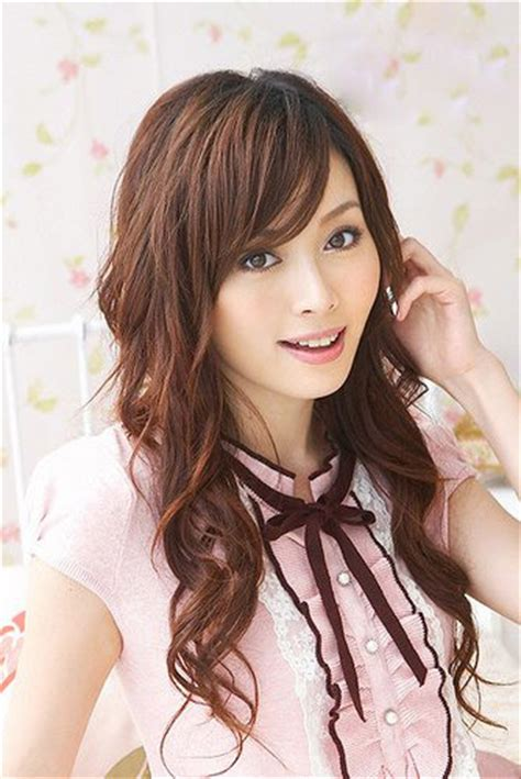 japanese hairstyles curly hair japanese curly hair women styler