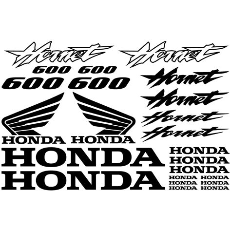 Sticker Honda Hornet 600 by Stickers Honda Hornet 600 Pas Cher