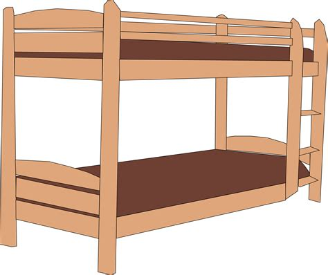 bed clip clipart bunk beds