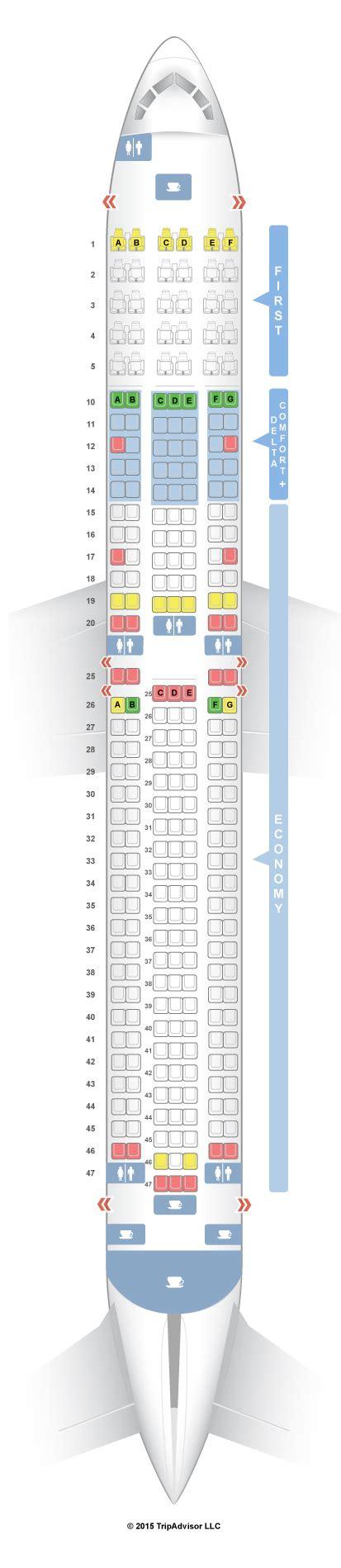 seating guru seatguru seat map delta boeing 767 300 76p 76q