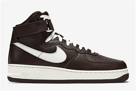 Bn0243 Nike Air One High 1 Nike Air 1 High Chocolate