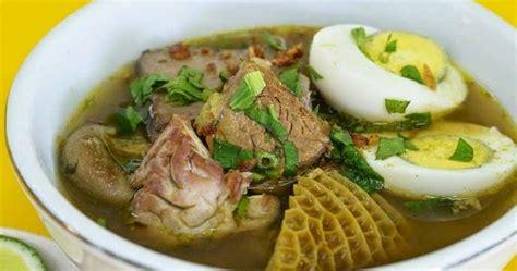 cara membuat soto ayam ala rumahan cara memasak soto daging sapi khas madura yang enak