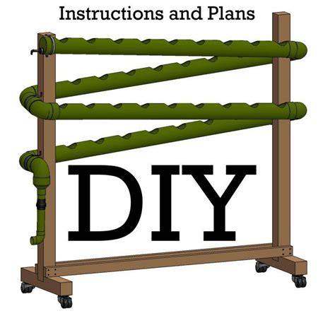 do it yourself vertical hydroponic garden idea crafts