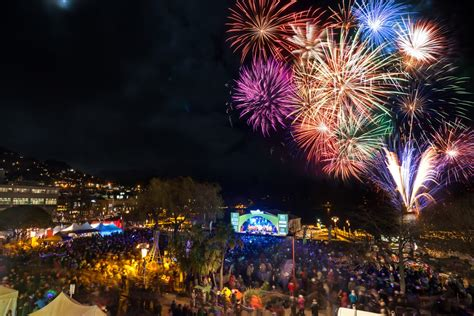 new year 2015 wellington fireworks fest300 queenstown winter festival photos and