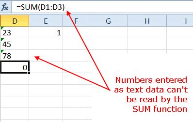 convert text to numbers with excel paste special
