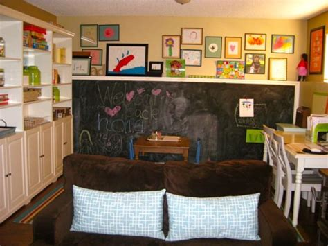 wall chalkboard for room 35 colorful playroom design ideas