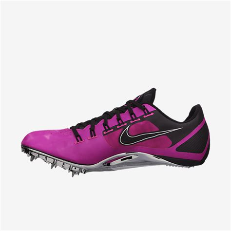 track shoes with spikes nike zoom superfly r4 track running spike cleats shoes