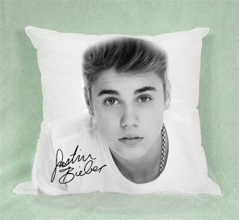 justin bieber pillow 18x18 quot pillow cover