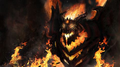 dota 2 nevermore arcana wallpaper shadow fiend arcana dota 2 wallpapers