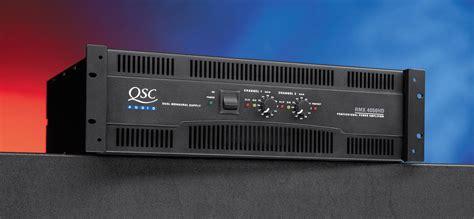 Power Lifier Qsc 5050 qsc rmx 4050hd 4000 watt power lifier