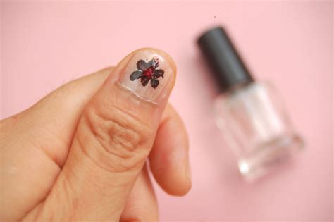 easy nail art wikihow how to make cute flower nail designs with pictures wikihow