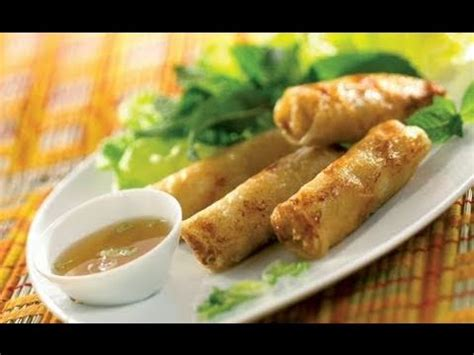 recette cuisine cor馥nne cuisine vietnamienne recette nems crabe et crevettes