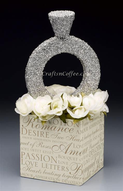 diy diamond ring craft this glittering diamond ring