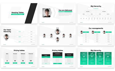 Amazing Tables Dates Powerpoint Template 65977 Amazing Powerpoint Presentations Templates