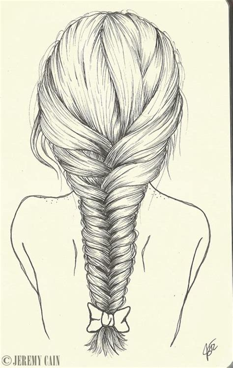 drawing hairstyles braid how to draw a cartoon face step by step with pencil