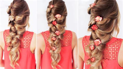 braided hairstyles luxy hair the bow braid luxy hair youtube