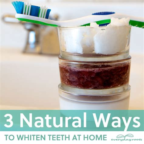 3 ways to whiten teeth at home