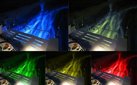 underwater boat lights installation 4 x 36w rgb marine underwater led boat lights multi colour
