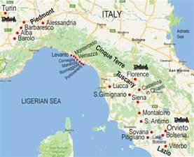 Cinque Terre Map Italy by Walk Map Cinque Terre