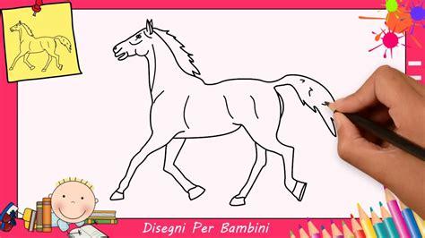 disegni cavalli facili disegni di cavalli facili per bambini come disegnare un